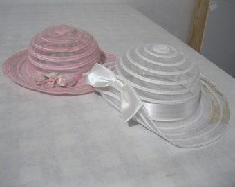 2 dress children's hats