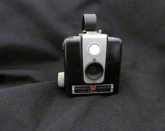 Vintage Kodak Brownie Hawkeye Camera, Bakelite