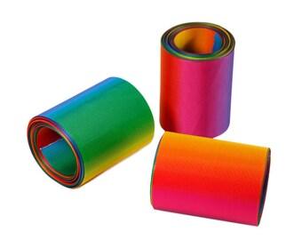 "Rainbow Ribbon grosgrain/ 3"" ,2"" , 1.5"" ,1""  Ribbon // Rainbow Double Sided Ribbon // Rainbow Ribbon"