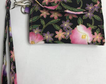Pink Pallet Wrist Wallet