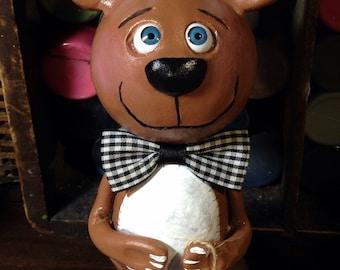 Halloween Grimmy Teddy bear poupée fait sur commande