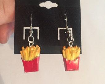French Fry Earrings!