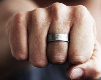 Mens Wedding Band Mens Wedding Ring Wedding Band Wedding Ring Mens Ring Unique Wedding Ring Men's Wedding Ring Silver Wedding Band