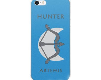 Camp Half-Blood Inspired Percy Jackson Hunter of Artemis iPhone Case