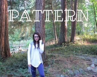 Rowan Boho Vest Pattern | Crochet Pattern | Vest Pattern | Crochet Vest Pattern | Summer Vest