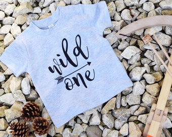 Wild one baby tshirt, baby shirt, baby clothes, wild one baby top, wild one top, newborn tshirt, baby shower tshirt, baby boy clothes