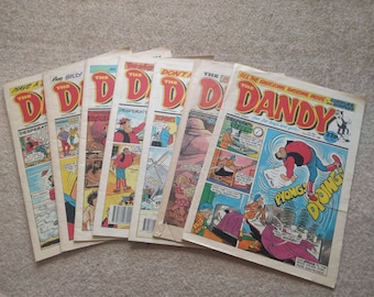Vintage Dandy comic from the 1990's