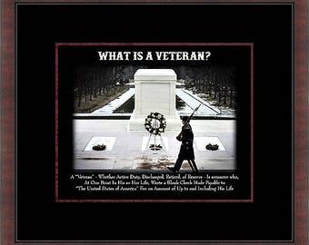 What is a Veteran Custom Framed