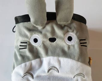 My Neighbour Totoro chalk bag made from plush toy