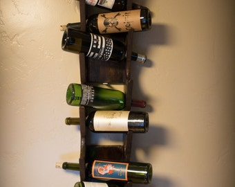 Custom Wood Wine Rack