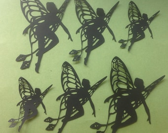 Magical, Whimsical Die Cut Dragonfly Fairies
