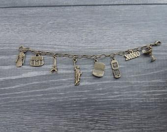 Gossip Girl Charm Bracelet