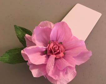Gift Tag Paper Flower