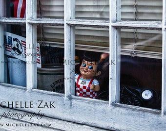 Big Boy, Vote, Store Window, Christmas, Hanukkah,  Photography, Print, Photograph, Birthday, Icons, Maryland,