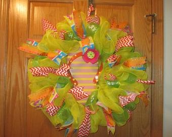 I love summer! Wreath!