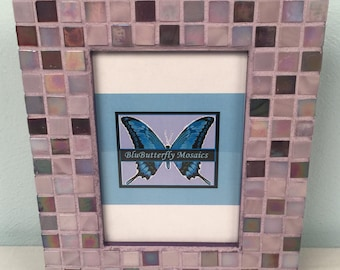 """5x7"""" Lavender Mosaic Picture Frame"""