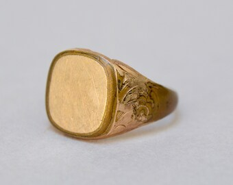 Antique 14K Gold Filled Ring....As Is . 10.5