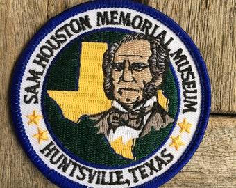 Sam Houston Memorial Museum Huntsville, Texas Vintage Travel Patch