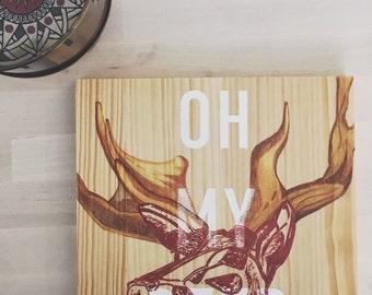 """Painting """"Oh My Deer"""""""