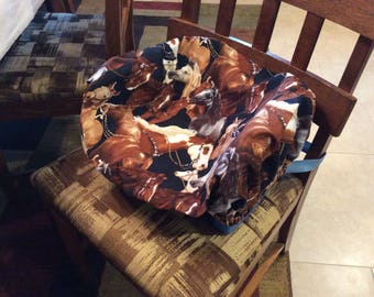 Booster Seat Cover All Kinds of Beautiful Horses