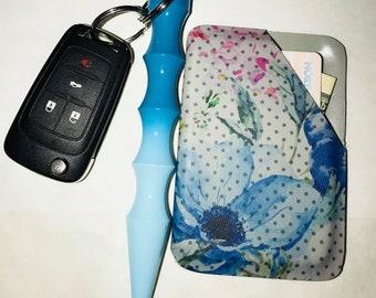 Kydex Wallet ~ Floral Wallet ~ Pocket Wallet ~ Hard Case Wallet ~ Card Wallet ~ Flower Wallet ~ Womens Wallet ~ Printed Kydex ~ Minimalist