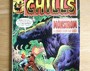 Chamber of Chills Comic Book #18, Marvel Comics 1975 FINE to VF