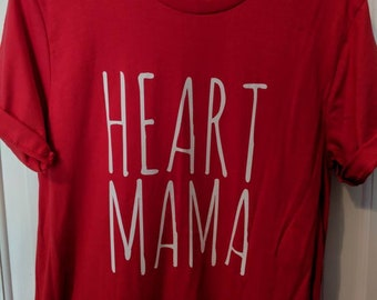Heart Mama Shirt // CHD Warrior // Unisex T-Shirt
