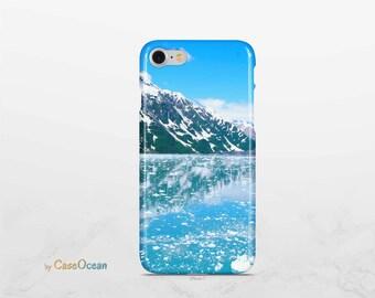 MOUNTAIN ALASKA phone case / iPhone X 8 7 6 case / iPhone 8 7 Plus case / iPhone 5 5s SE case / Samsung Galaxy Note8 S8 Plus S7 Edge S6 case