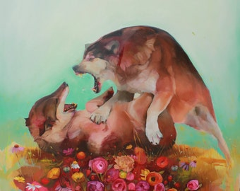 "Fine Art Print of ""Alpha"""