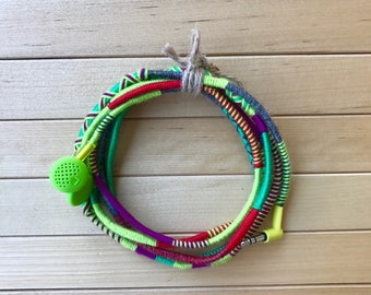 Earbuds, Wrapped Earbuds, Iphone Earbuds, Colorful Earbuds, Tangle Free Earbuds, Design Earbuds, Iphone Earpods, Handmade Earbuds, Apple