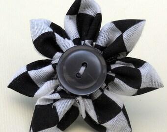 Racer Girl Take 2 Adjustable Fabric Flower Ring