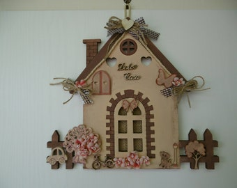 Wooden House to hang