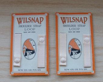 Vintage Wilsnap Shoulder Strap Loop on Original Card