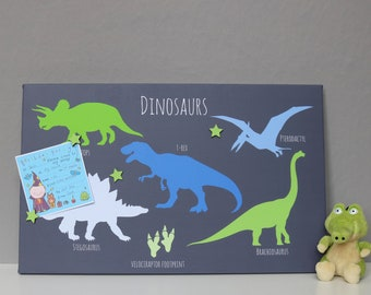 Dinosaur Magnetic Noticeboard
