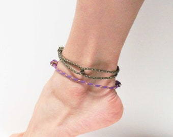 Simple Rope Anklets - Hugging Rope Anklets