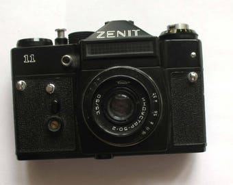 photo camera zenit zenit- 11 collectibles vintage camera cameras USSR retro camera mirror cameras Soviet camera old camera Film Camera