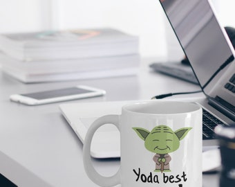 Courier Mug - Best Courier Gifts - Funny Courier Mug - Yoda Best Courier Gifts - Star Wars Mug - Yoda Best Courier Pun Mug