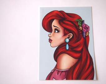 Ariel - The Little Mermaid Postcard