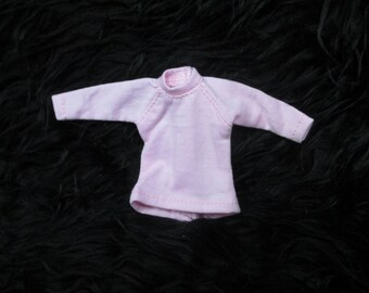 Handmade outfit for Blythe doll long sleeve Sweater Tee shirt SD-15