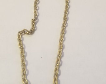 Gold Tone Necklace Chain