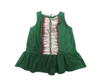 Effie Dress - Toddler, Child, Girl, Watermelon, Summer, Drop Waist