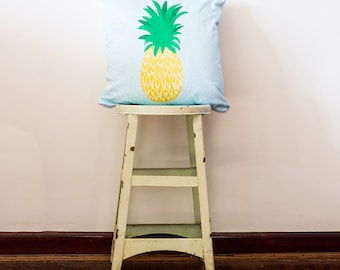 Pineapple Doodle Pillow 18x18