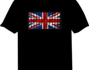 Union Jack Light Up Shirt
