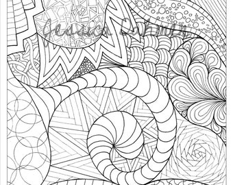 Coloring Pages Hand-drawn - 3 of 4