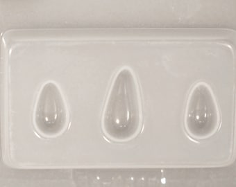 Large Teardrop and 2 Small Resin Mould RM 51385
