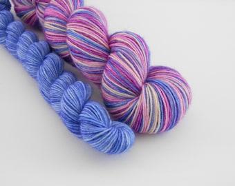 LOVE SOCK self-striping, 033, merino nylon sock yarn,100g