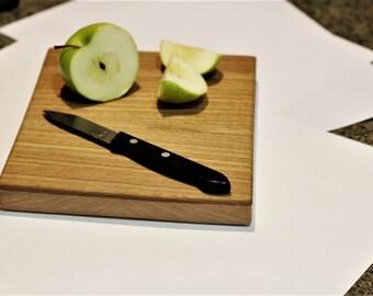 Handmade white oak/maple cutting board