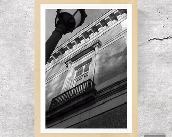 Architectural Print, Architectural Poster, Architecture Print, Architecture Poster, Building, Black and White Print, Black and White Poster