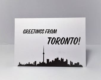 Greetings from Toronto - Greeting card