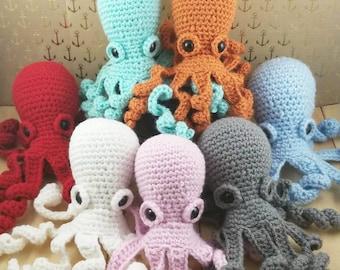 Amigurumi Octopus - Crochet Octopus - Octopus Doll